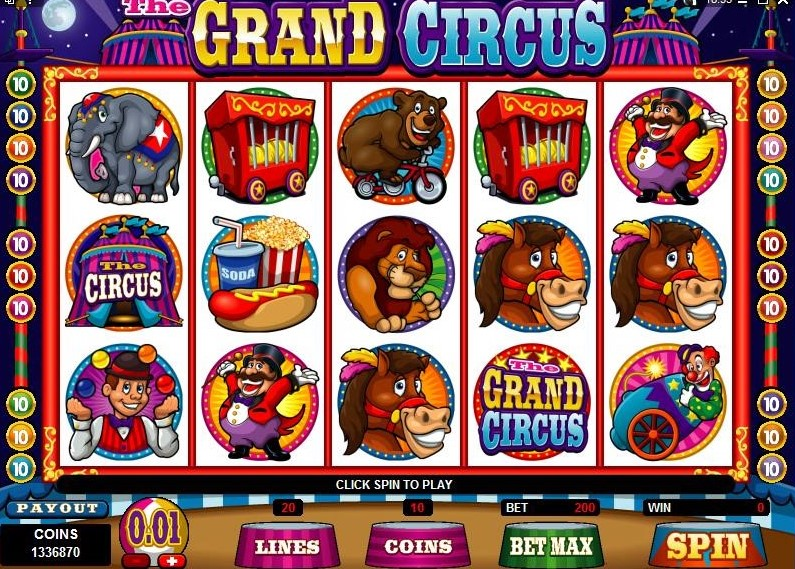 The Grand Circus – A Combo Pack